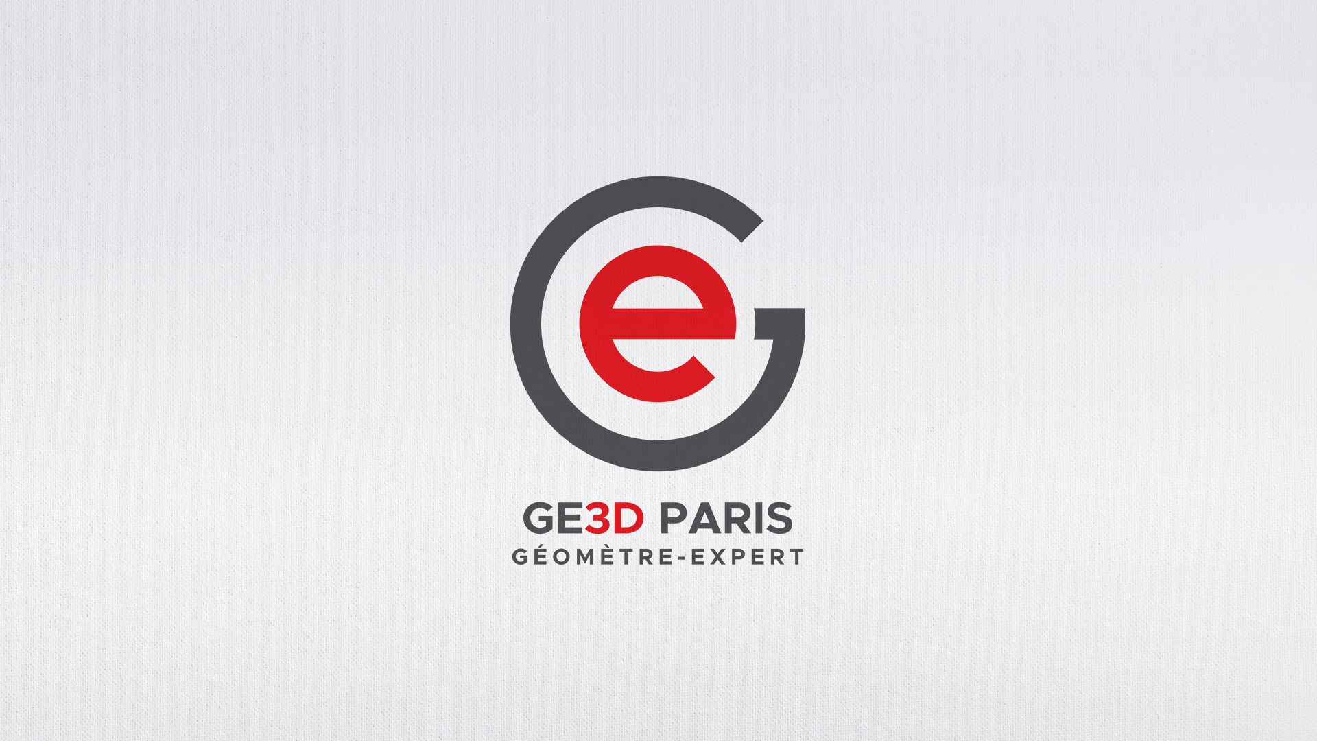 logo GE3D geomètres experts de paris
