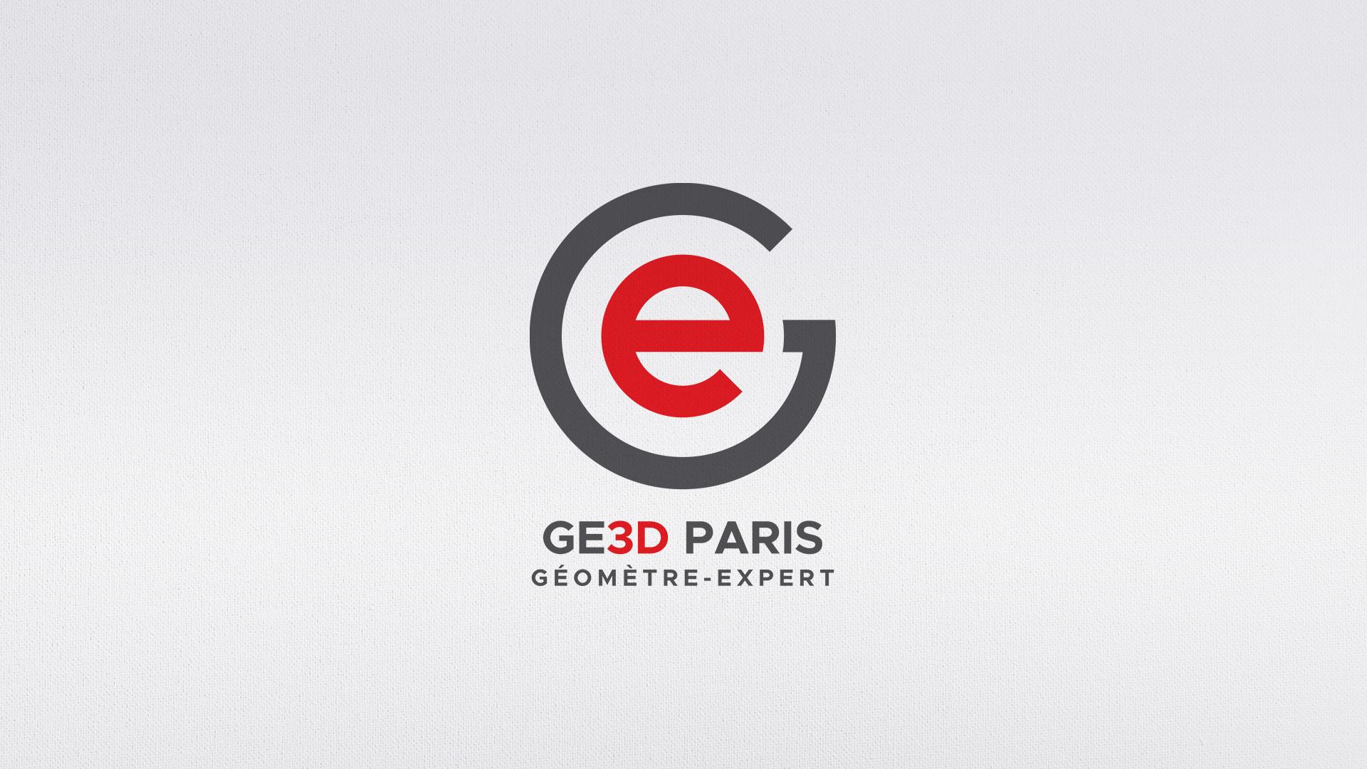 logo GE3D geomètres experts de paris