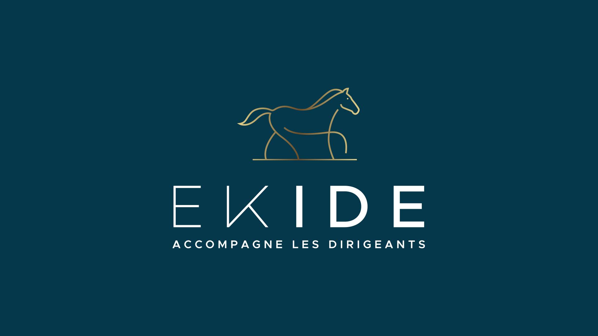 logo EKIDE accompagne les dirigeants