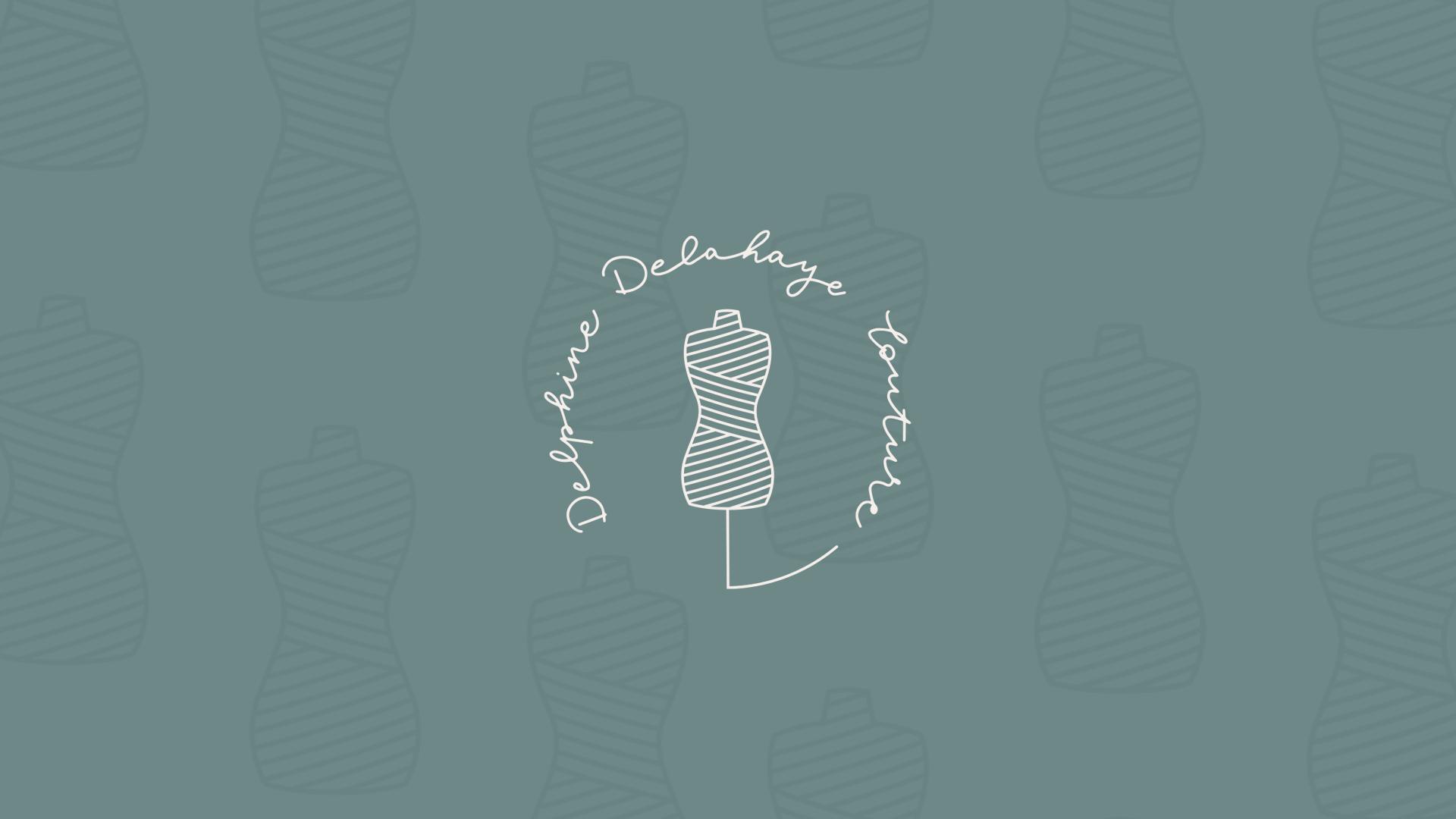 delphine delahaye couture logotype
