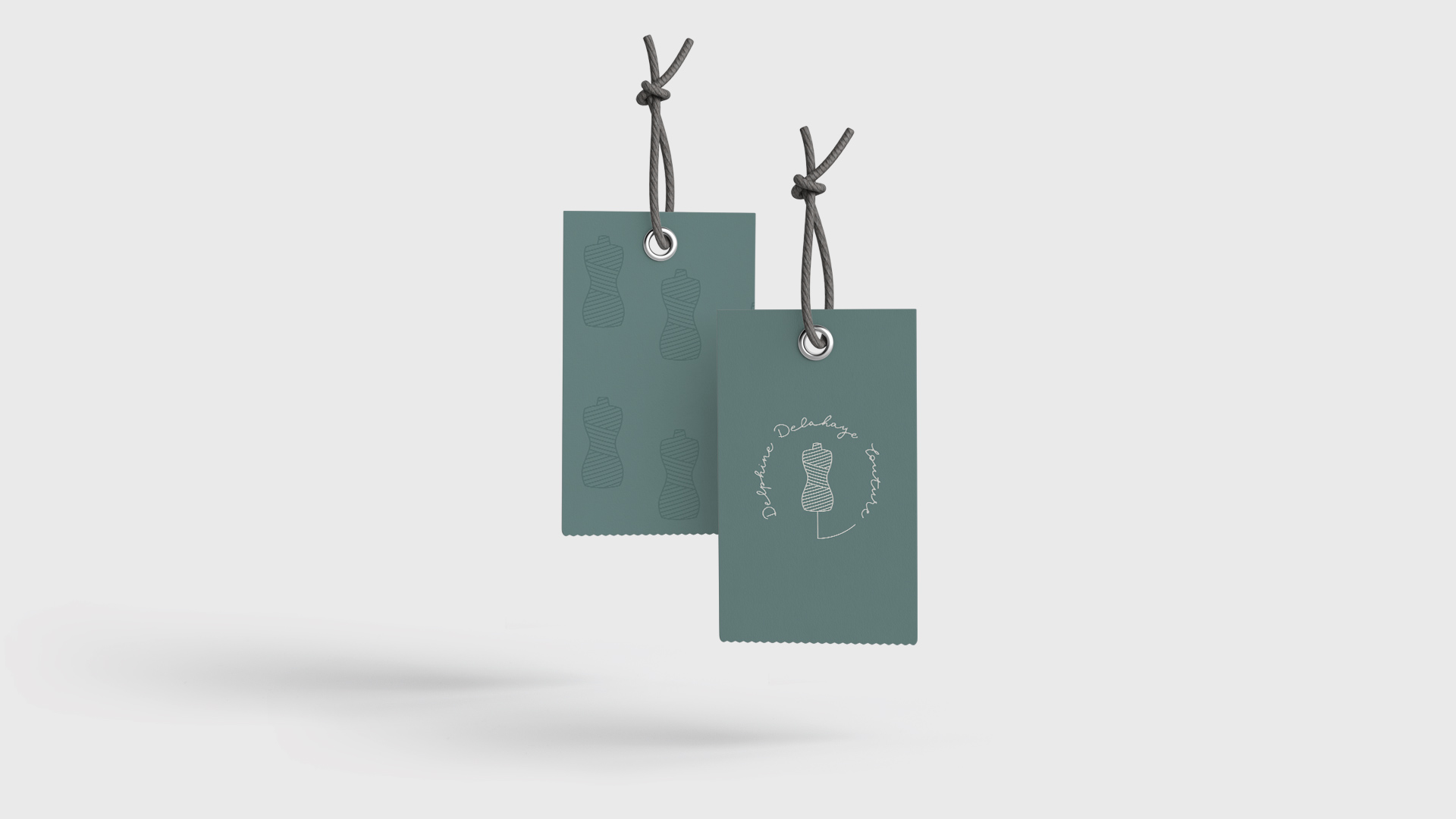 étiquettes de vêtement de delphine delahaye couture